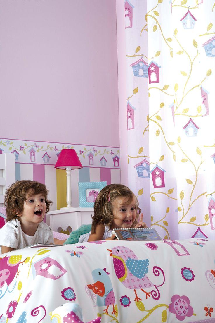 8 mejores im genes de dormitorios infantiles en pinterest - Textil habitacion infantil ...