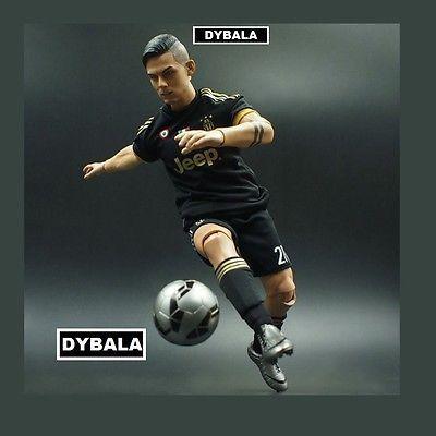 realistic La joya PAULO DYBALA JUVENTUS fc BIG football action figure 1/6 scale