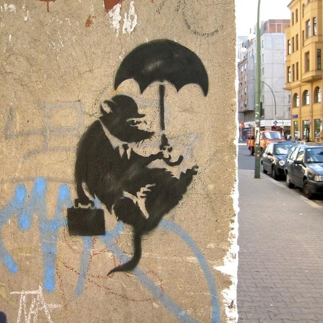 Best 25 banksy rat ideas on pinterest banksy wiki for Banksy rat mural