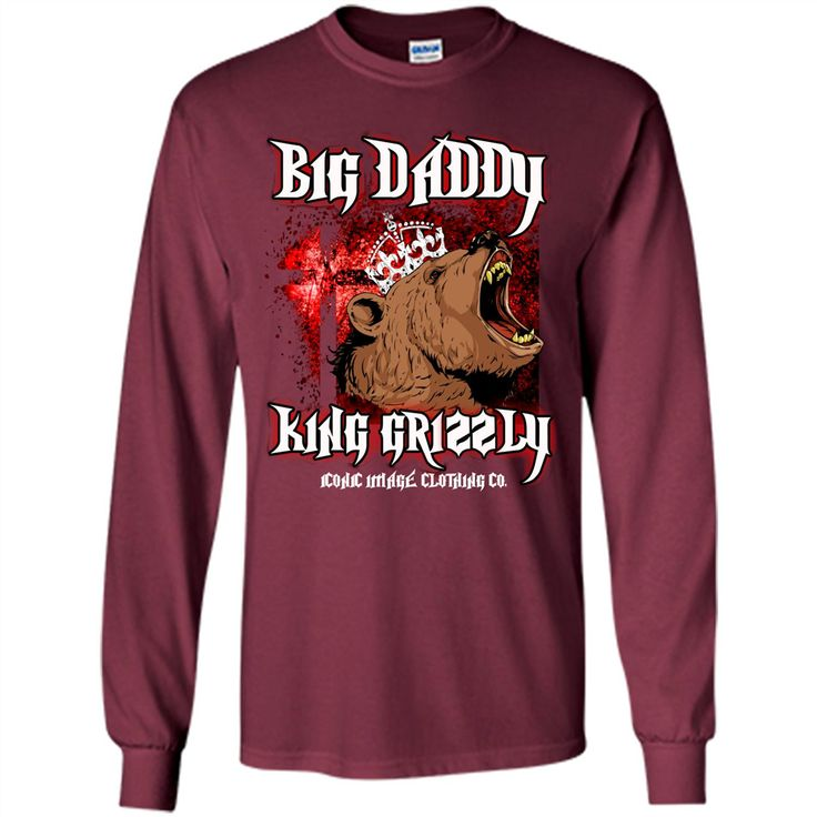 Big Daddy King Grizzly Father's Day T-shirt