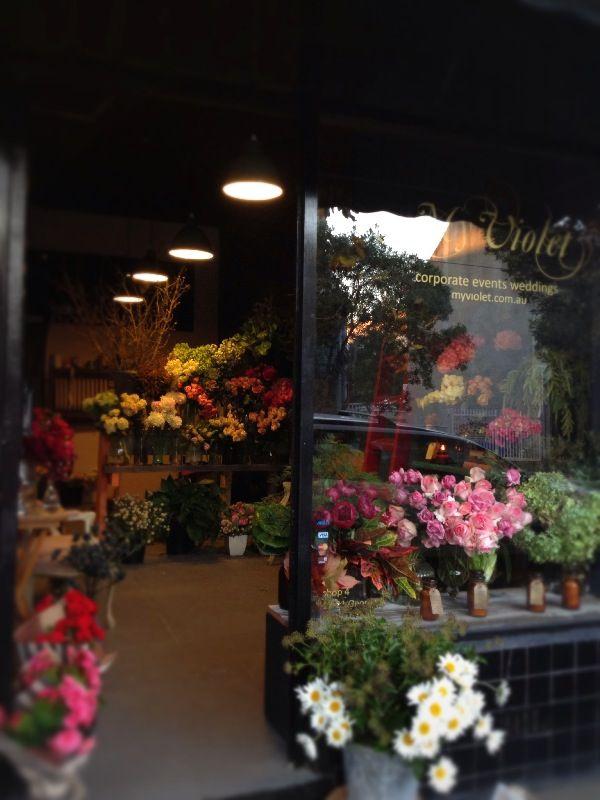 My Violet Shop front in Redfern, Sydney