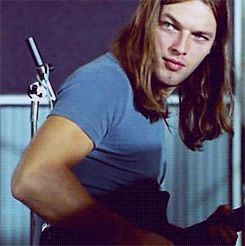 David Gilmour . Mmmm, snog 'im.