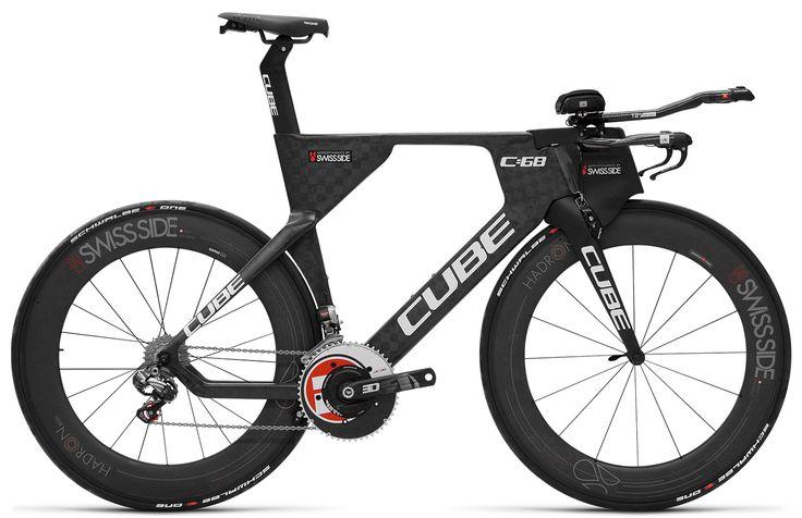 El fabricante de bicicletas alemán Cube ha producido la nueva C:68 TT para ayudar a su triatleta Andreal Aerlet a alcanzar la victoria en el Campeonato Mundial de Kona.