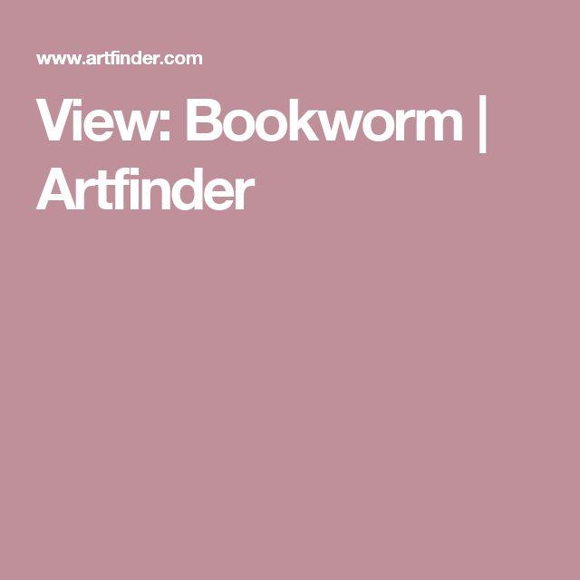 View: Bookworm | Artfinder