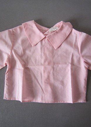 Kaufe meinen Artikel bei #Mamikreisel http://www.mamikreisel.de/kleidung-fur-madchen/langarm-blusen-und-hemden/38922697-rosa-bluse-mit-tollem-kragen-aus-den-usa