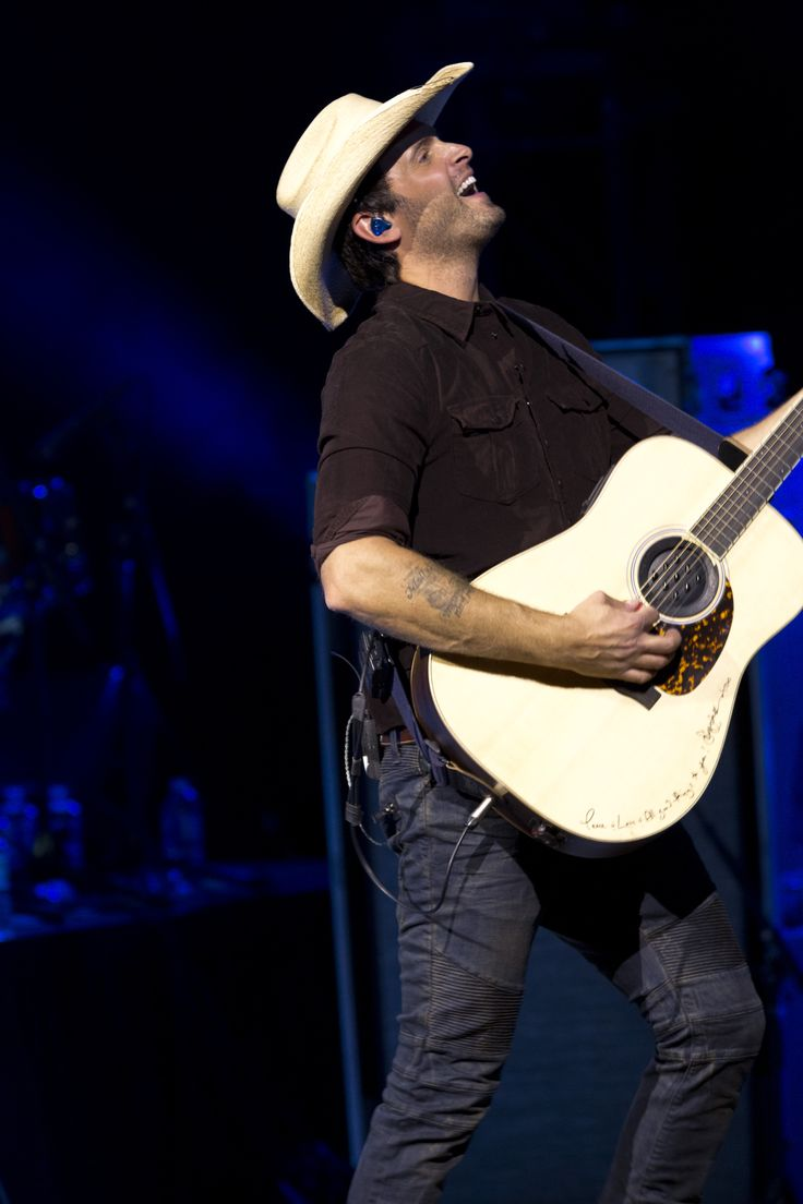Dean Brody performing at Massey Hall in Toronto for the 2014 Canada's Walk of Fame Festival.