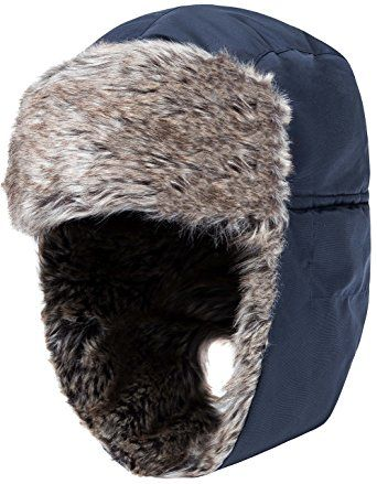Wantdo Men s Faux Fur Trapper Hat Waterproof Warm Winter Trooper Snow  Hunting Hat With Ear Flap Review 155e6a7d8a9