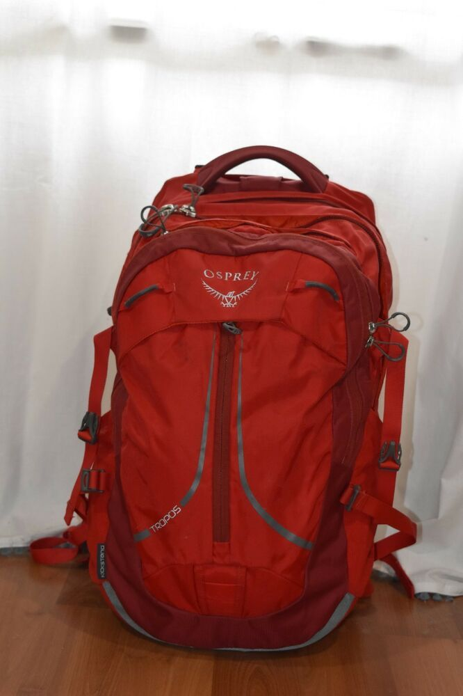 Osprey Packs Tropos Daypack Red (Excellent condition. Used 2 months for  books)  fashion  clothing  shoes  accessories  unisexclot…  d67531c8a6908