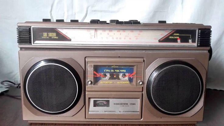Radiocasetofon Tehnoton RC 2320... ... aus Romania, man glaubt es nicht!