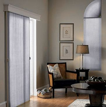 Bali VertiCell 3/8 Single Cell Sheer contemporary vertical blinds