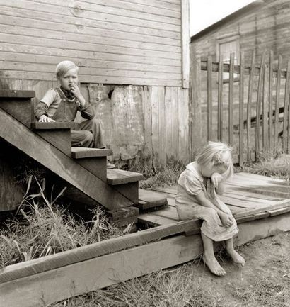 Coal miner's children in West Virginia 1939