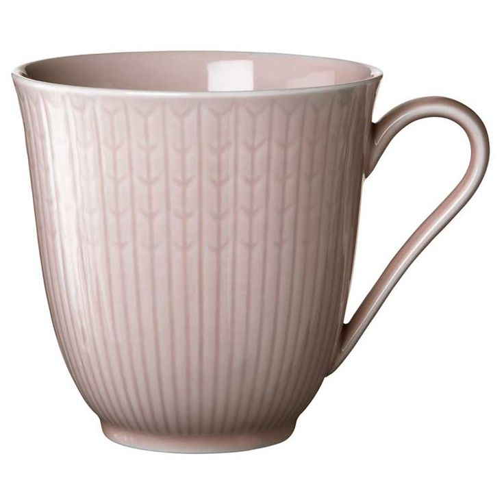 The beautiful classis Swedish Grace mug in Rose from Rörstrand