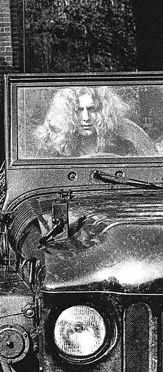 Robert Plant in a jeep, what's better than that!