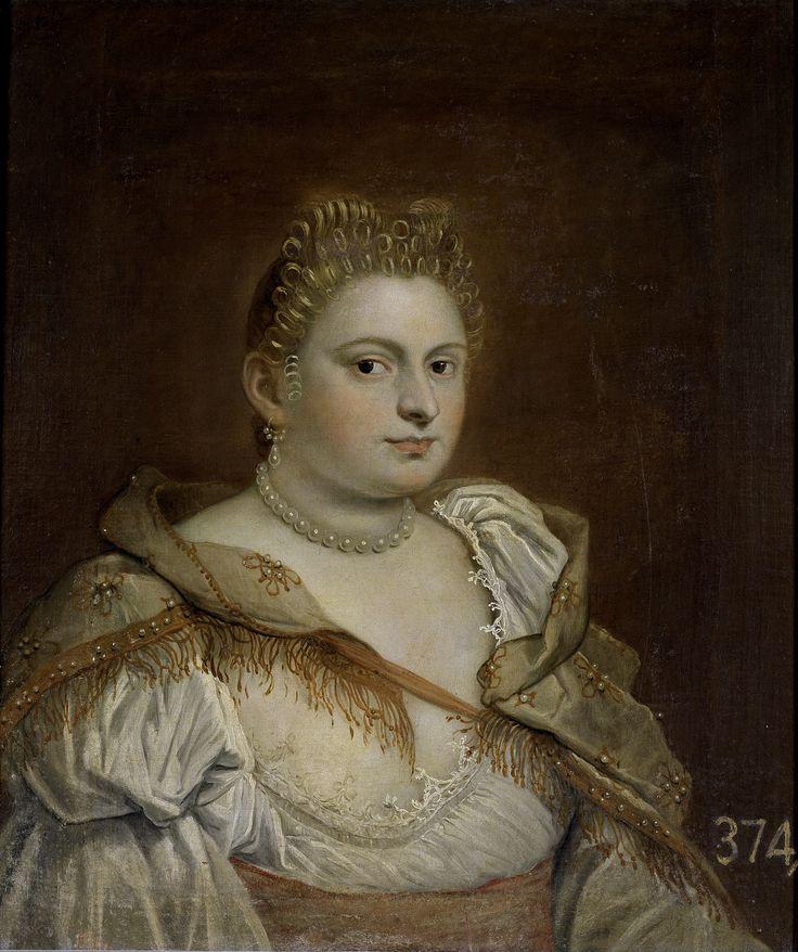 Tintoretta, Marietta Robusti. Venetian lady. Century XVI