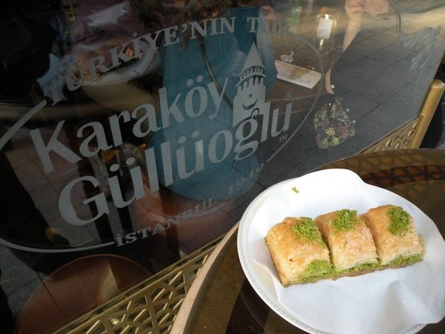 Possibly the best Baklava in Istanbul maybe even Turkey