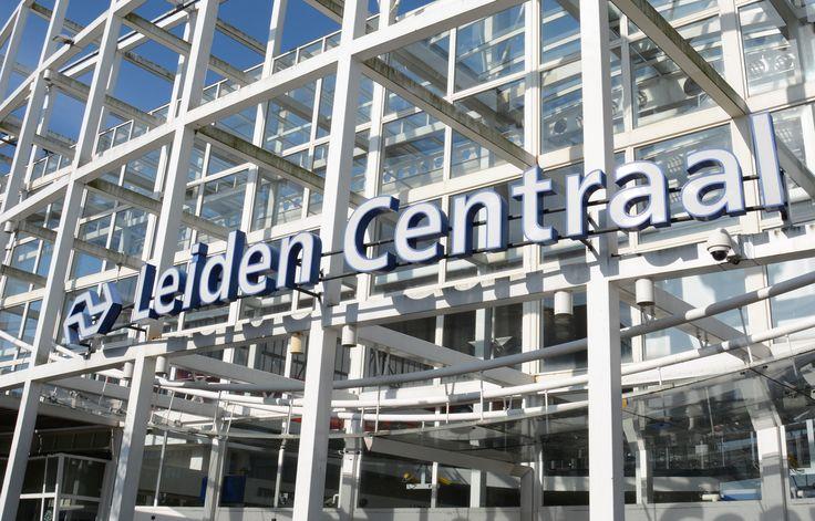 Leiden, The Netherlands. Typeface; Frutiger
