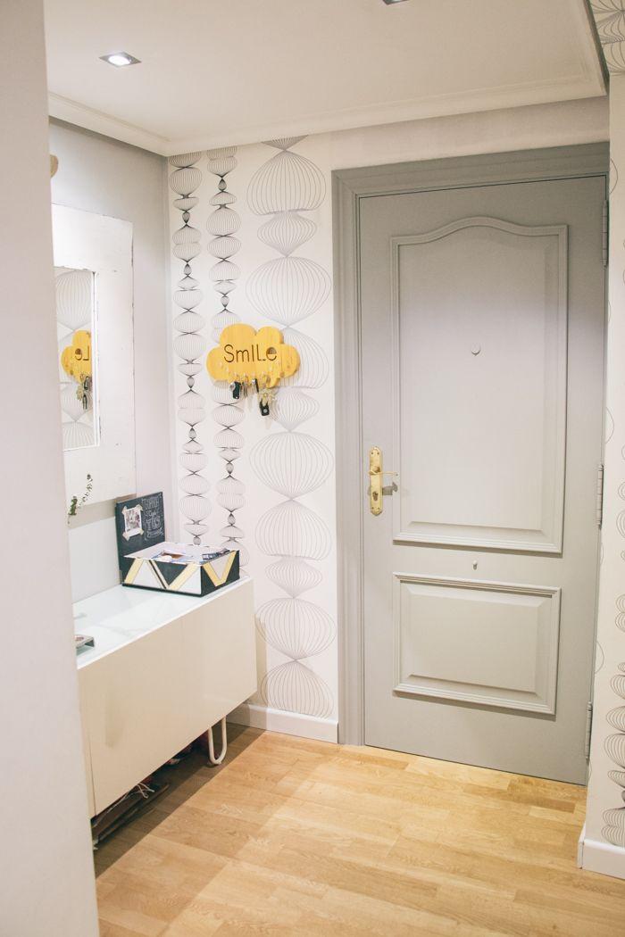M s de 25 ideas incre bles sobre puertas interiores for Casas pintadas interior