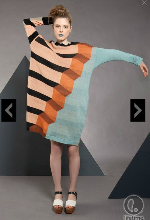 Joseph Aaron Segal. Wow, now there's inspiration for mastering intarsia knitting!