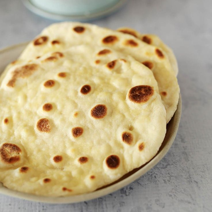Easy Yoghurt Flatbreads | Kids Eat by Shanai. Made with just 2 ingredients and ready in minutes