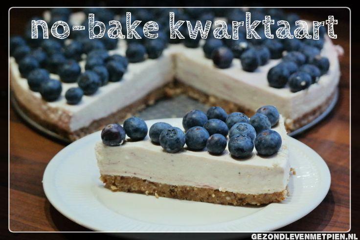 Maak in 30 minuten je eigen no-bake kwarktaart met je favoriete vruchtensaus. Granenvrij en suikervrij en past bij Broodbuik. Fruit naar keuze als topping.