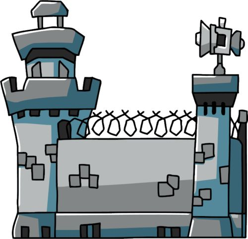 Imprisoned Clip Art | Prison - Scribblenauts Wiki