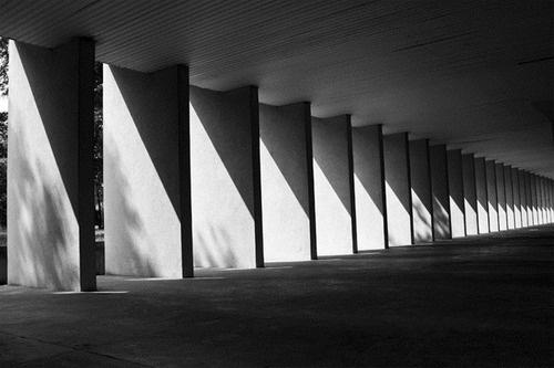 Gallaratese Housing Project (1974) by Aldo Rossi ,MIlan, Italy
