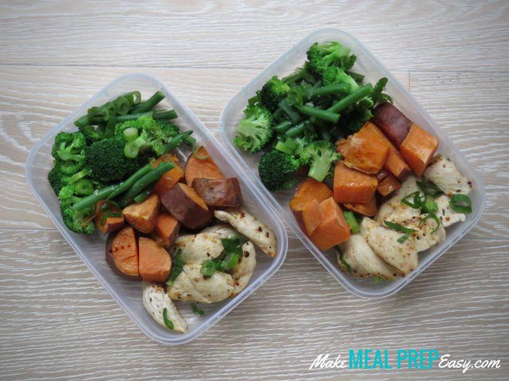 Piri-Piri Chicken, Green Veges & Baked Sweet Potato