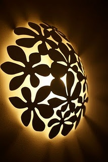 fruit bowl lamp--from ikea, loving the idea to make it into a light