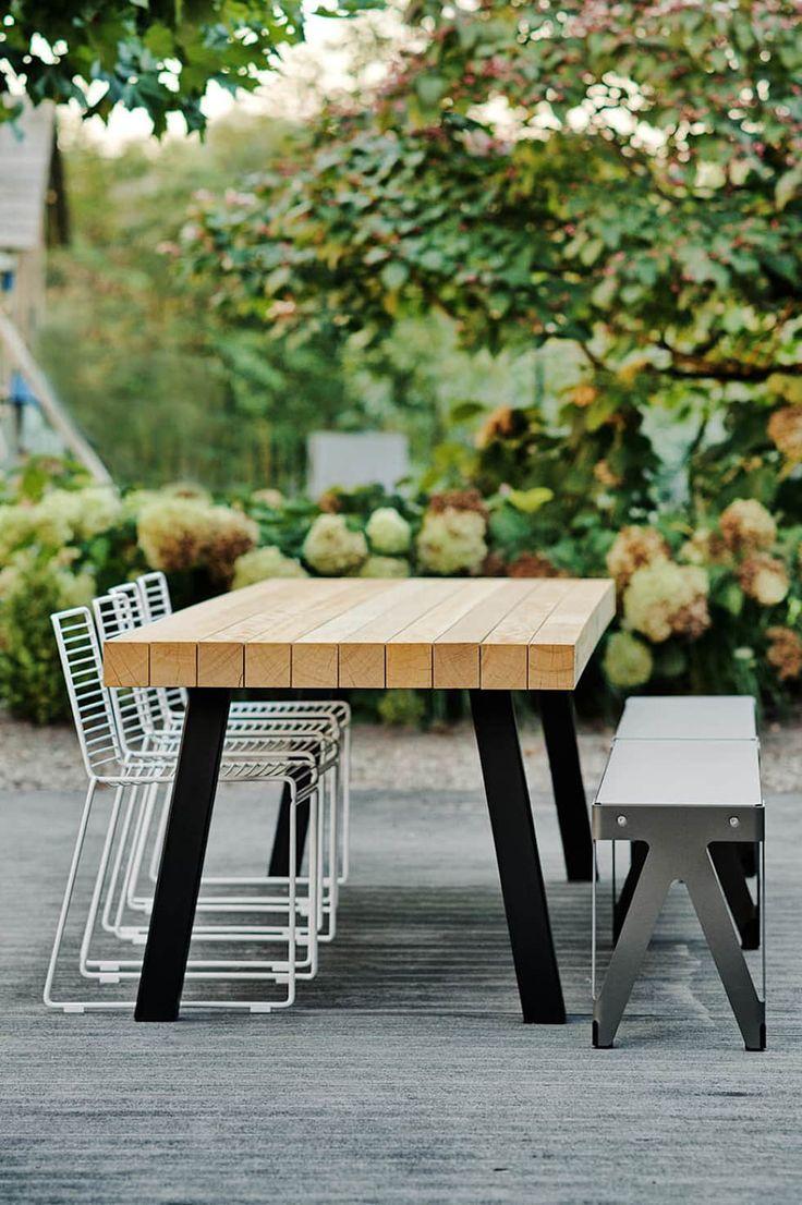 foto s van een modern balkon veranda terras buitentafel dani
