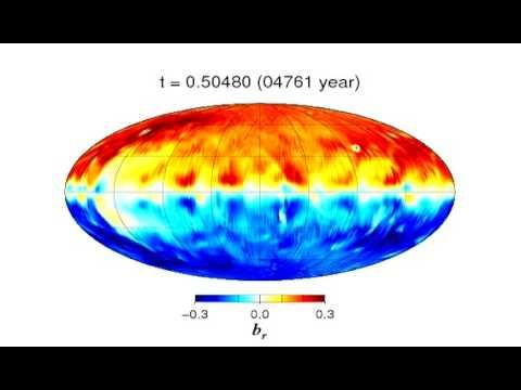 Earth magnetic field generated by uniform heat flux at the surface of th...