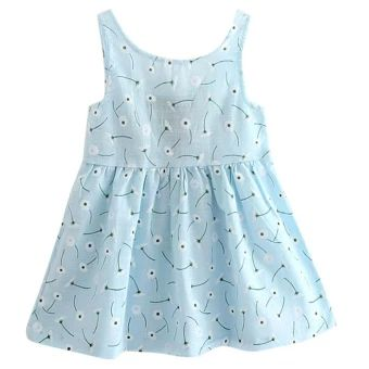 ซื้อเลย  Kids Girls Sleeveless Flower Print Soft Cotton Princess Dress -intl  ราคาเพียง  173 บาท  เท่านั้น คุณสมบัติ มีดังนี้ Product: dress Material: cotton Color: as picture Gender: girl Sleeve length: sleeveless Seasons: spring, summer, Size: 90, 100, 110, 120, 130,140 For ages: the child (2 to 7 years old), cuhk children(8-16)