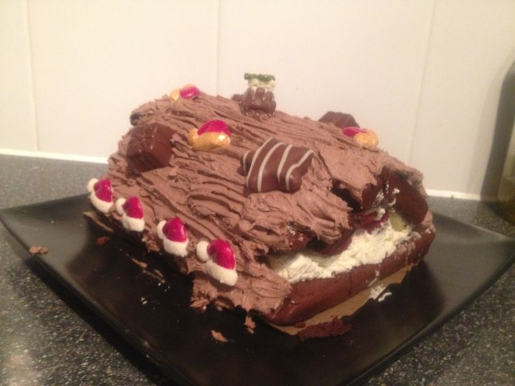 Attempting a Christmas Yule Log