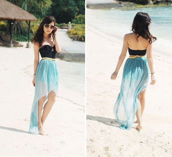 beach timeBeach Dresses, Fashion, Summer Outfit, Beach Outfit, Highlow, Beach Style, At The Beach, Beach Time, High Low