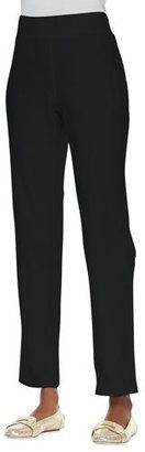 Neon Buddha Jersey Skinny Pants, Black - Shop for women's Pants - GLOBAL BLACK Pants