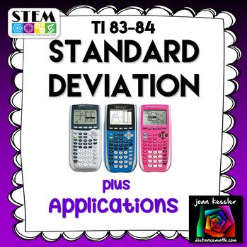 population standard deviation help essay This guide is designed to help you understand both how this is the basis of inferential statistics examples of typically this is a standard deviation.