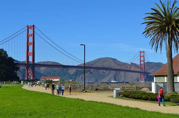 Crissy Field Golden Gate Bridge San Francisco