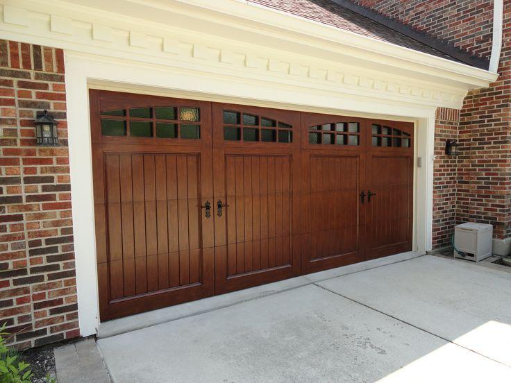 14 best garage doors images on pinterest garage doors for Wood carriage garage doors