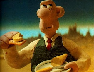 Wallace and Gromit, An Evening Meal: Cheese??