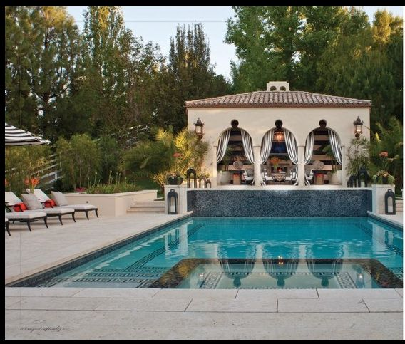 Celebrity Decor: Inside Bruce and Kris Jenner's Old Hollywood Glamour Calabasas Home