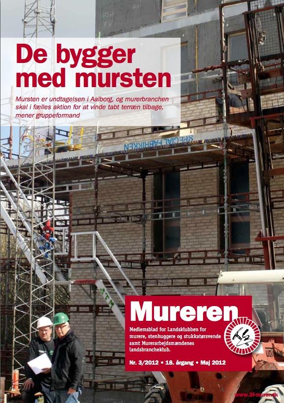Pt. er det en sjældenhed, at man bruger mursten i facaderne i Aalborg.
