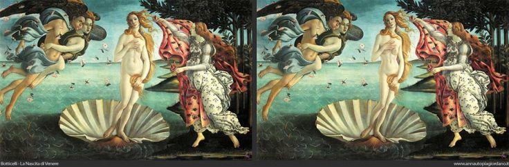 Les Venus d'Anna Utopia Giordano, qui a eu l'idée de retoucher une série de tableaux célèbres. En donnant aux personnages féminins les mensurations des tops models d'aujourd'hui, elle démontre de façon frappante l'évolution des critères de beauté féminine :)