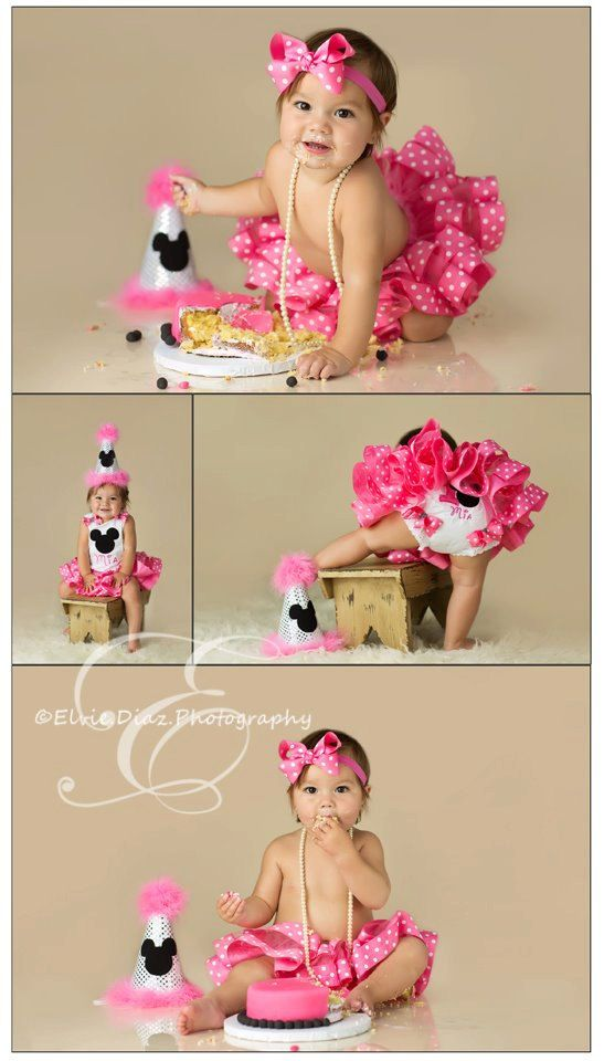 Minnie Mouse Birthday Collection - Hot Pink - Includes top, STINKIN CUTE tutu and bow - Many color choices - SUPERB quality. $58.99, via Etsy.
