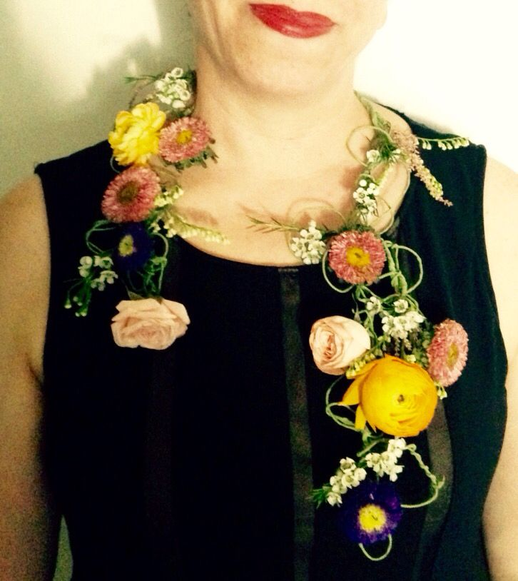 #Flower#necklace