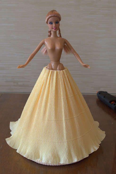 Делаем куклу из конфет своими руками. Шаг 11