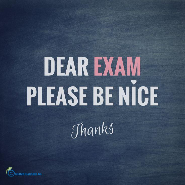 Wij wensen all examenkandidaten heel veel succes de komende tijd! Zet 'm op! #examentijd #goodluck #DearExam #Exams #studylife #schoolleven #eindexamens #examens #onlineslagen