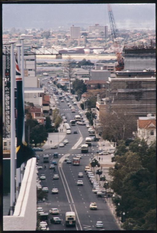Adelaide Tce, Perth, June 1970