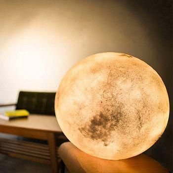 Why go to the moon when you can hang it in your room?Let this mysterious…