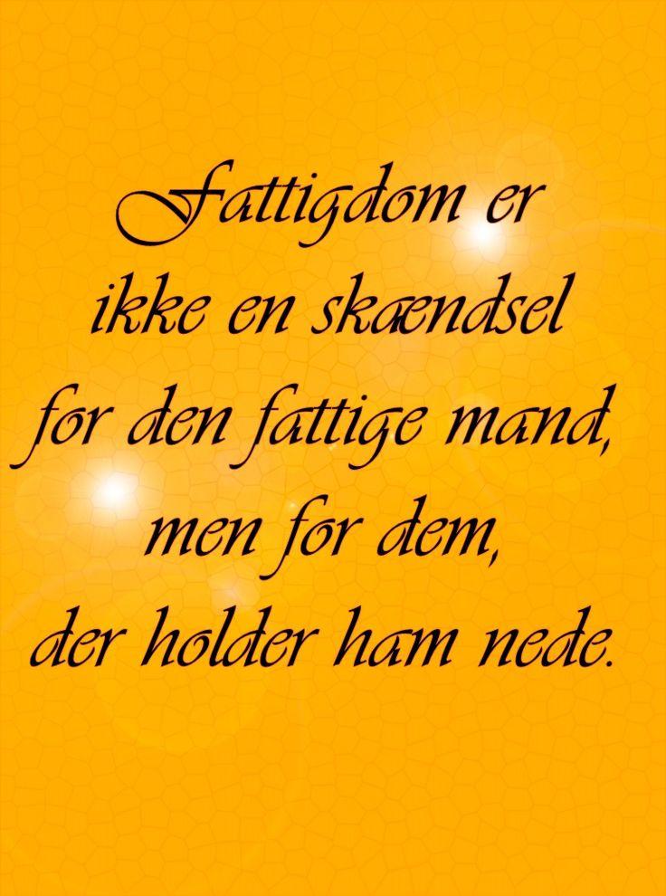 citat,dansk,fattigdom,