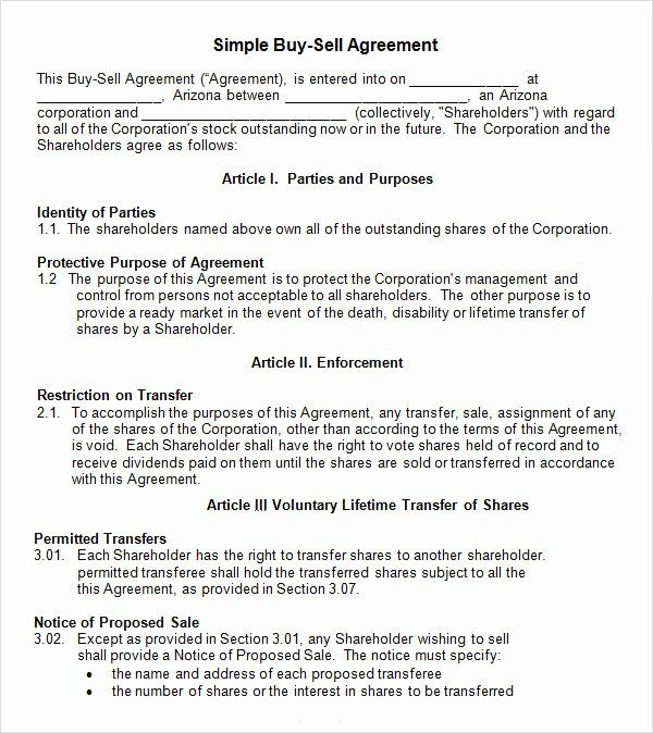 The legal knowledge is involved in drafting a buy sell agreement with any company. Buyout Agreement Template Awesome 18 Sample Buy Sell Agreement Templates Word Pdf Pages Purchase Agreement Agreement Contract Template