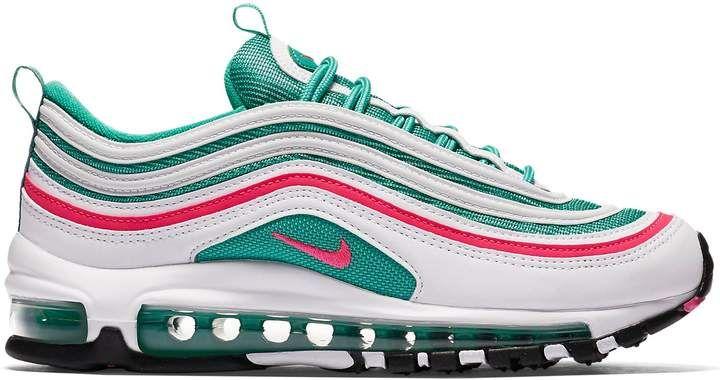 Nike Air Max 97 South Beach Gs In 2021 Nike Shoes Air Max Nike Air Max 97 Jordan Shoes Girls